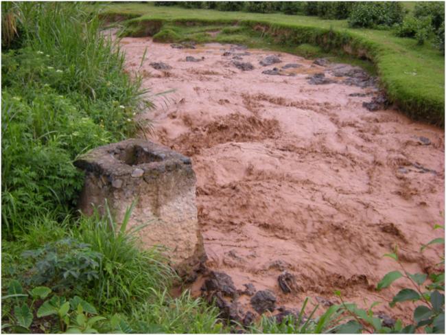 Sebeya River on the way to Gisenyi