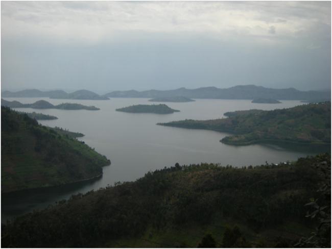 View over Lake Burera
