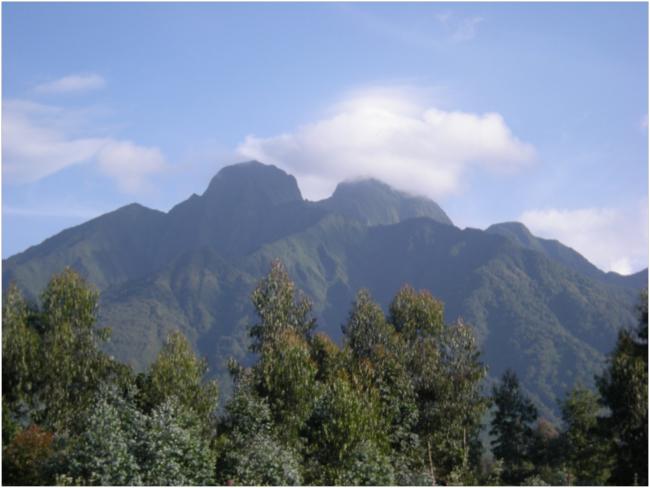 Sabyinyo Volcano
