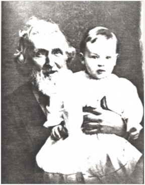 Alexander Eisenbise with his great-grandson Gerald