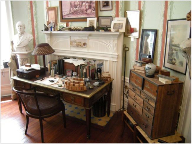 Gifford Pinchot's desk and office at Grey Towers