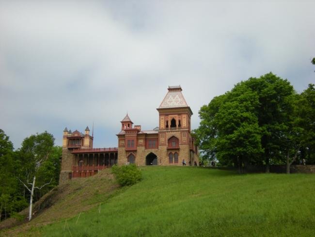 View of Olana. May 2015.