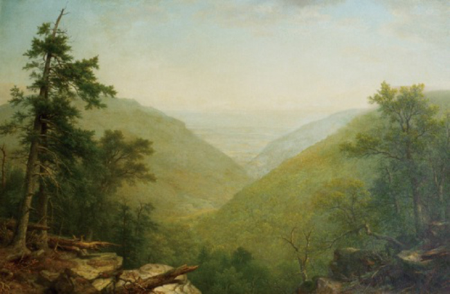 Kaaterskill Clove. Asher B. Durand. 1866.