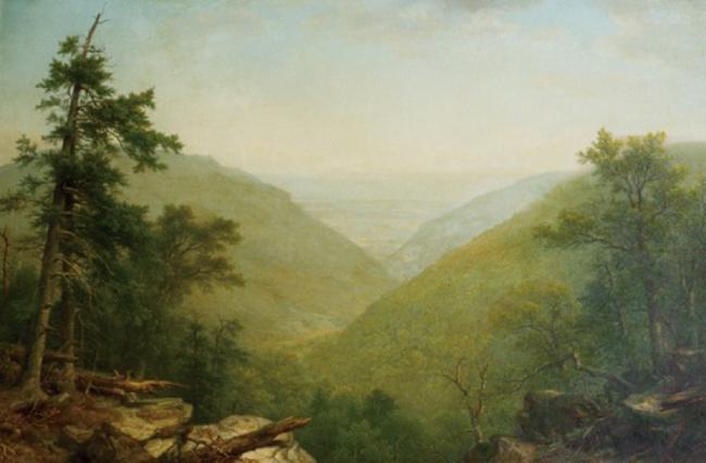 Kaaterskill Clove. Asher B. Durand. 1866.