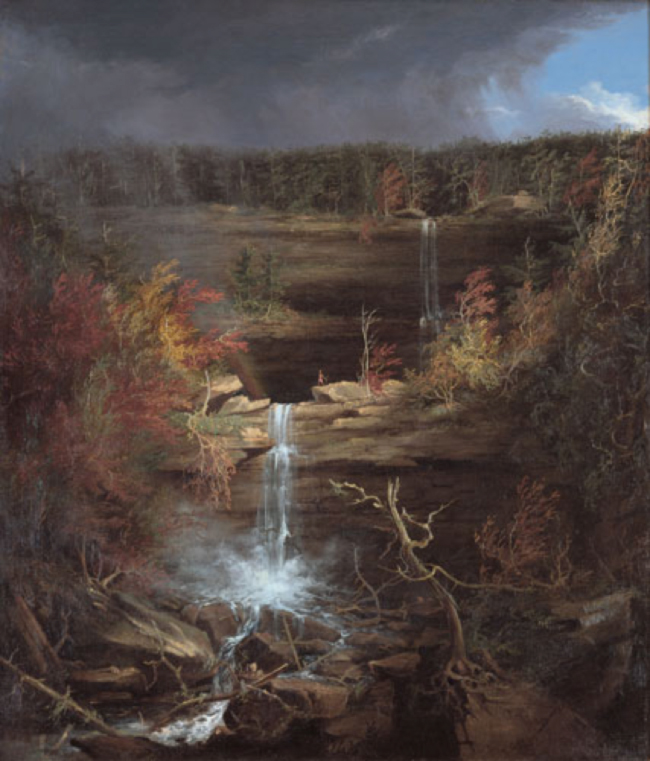 Falls of the Kaaterskill. Thomas Cole. 1826.