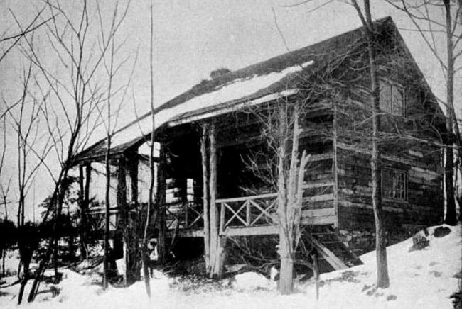 Slabsides circa 1911.