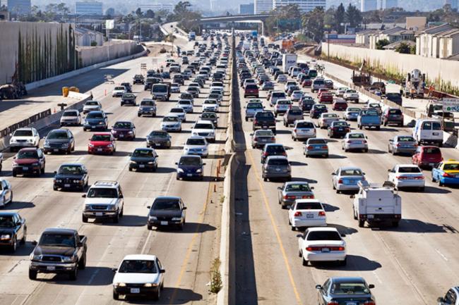 Traffic, Los Angeles, California