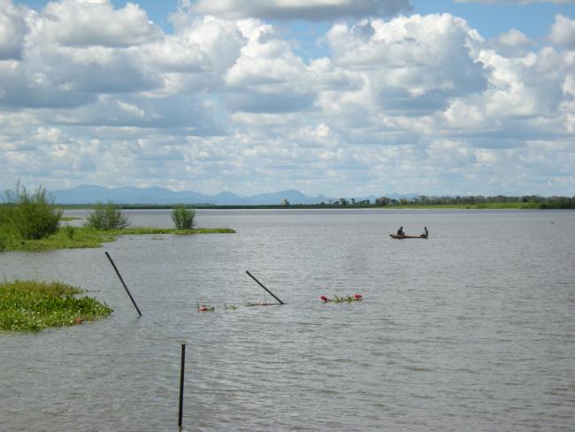 Shire River at Liwonde, Malawi