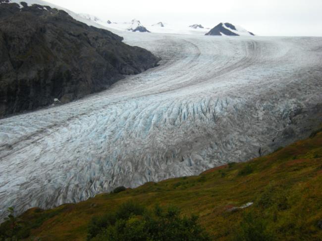 Exit Glacier, Kenai Fjords National Park, Alaska September 2015