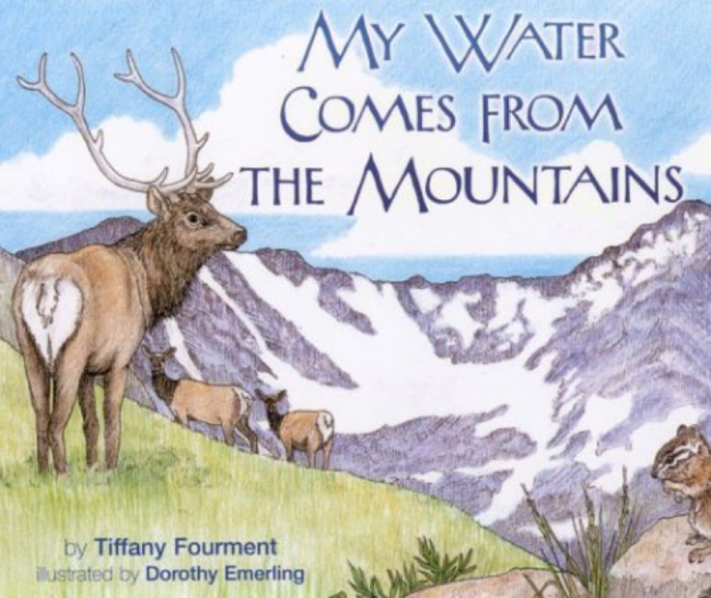 Illustration for book cover of My Water Comes from the Mountains