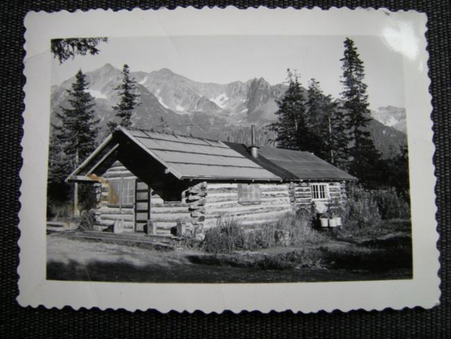 Dad's cabin, July 1942