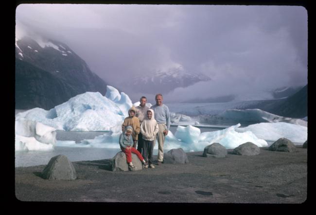 Portage Glacier, July 1963
