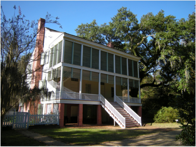 Oakley Plantation House, December 2016
