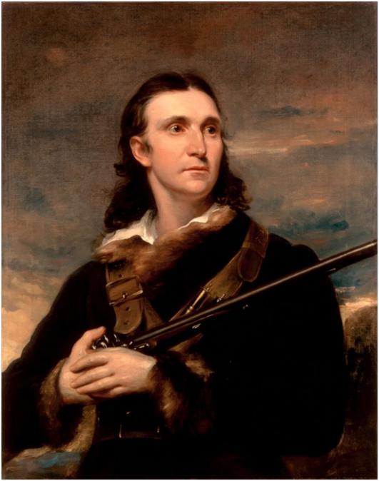 Portrait of John James Audubon, 1826, by John Syme, Edinburgh, Scotland