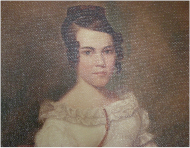 Audubon's portrait of Eliza Pirrie, 1821