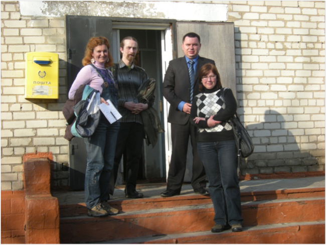 Meeting in Matviivka Village: