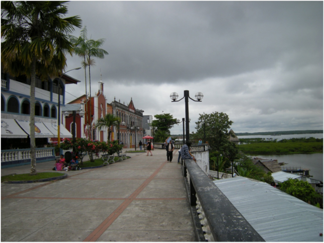 The Iquitos malecón