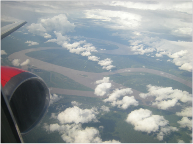 Amazon River south of Iquitos