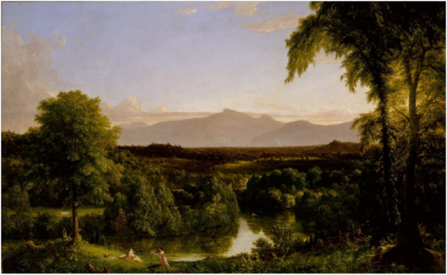 View on the Catskill – Early Autumn. Thomas Cole, 1836-1837.