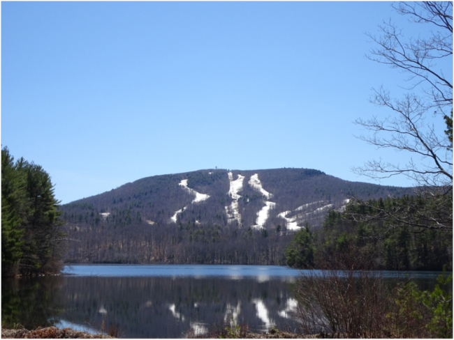 Wachusett from the north, 23 April 2018
