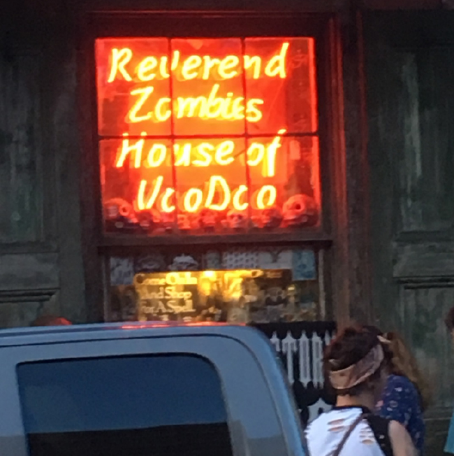 Reverend Zombie's House of Voodoo, New Orleans.