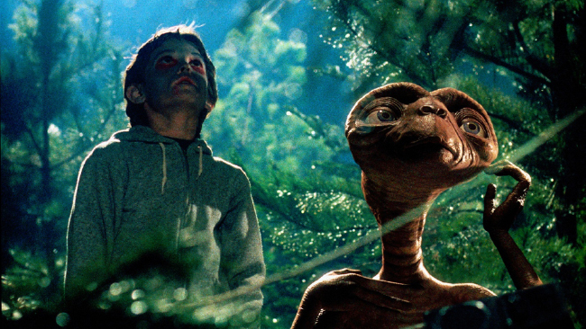 "Image from ""E.T. the Extra-Terrestrial"" movie (1982)"